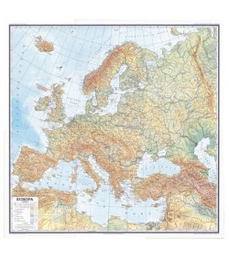 Europa, fizička, 1:3.000.000
