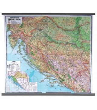 Republika Hrvatska, fizička, 1:300.000
