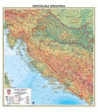 Republika Hrvatska, fizička, 1:500.000
