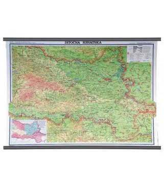 Istočna Hrvatska, fizička, 1:130.000