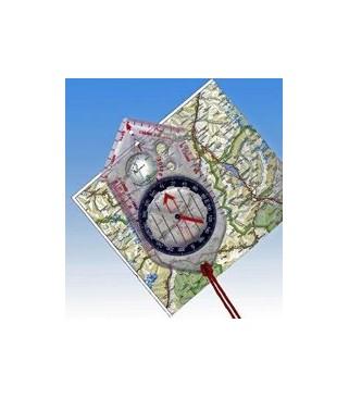 Kompas sa osnovnim grafičkim mjerama
