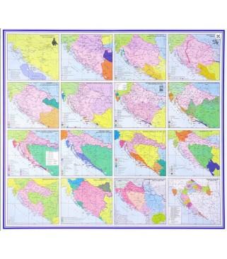 Hrvatski povijesni zemljovidi