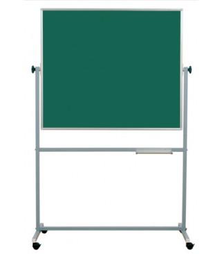 Školska ploča na stalku 120x120 cm, zeleno-zelena