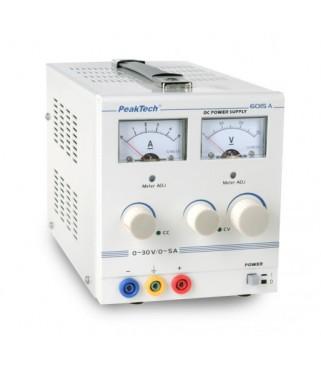 Analogno napajanje, 0 - 30 V/0 - 5 A DC