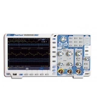 Višenamjenski osciloskop osjetljiv na dodir 100 MHz/2 CH