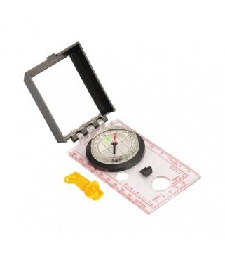 Kompas sa osnovnim mjerilima i ogledalom