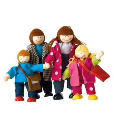 Obitelj lutkica - u gradu