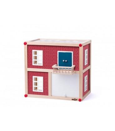 Kućica za lutke prizemlje drvena