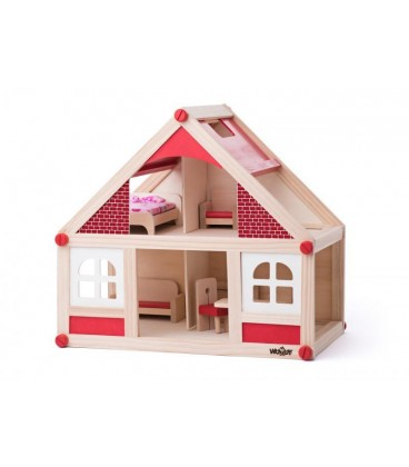 Kućica za lutke drvena