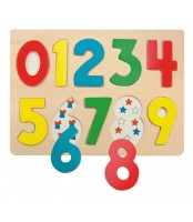 Brojevi - umetaljka, puzzle