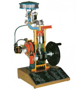 Četverotaktni benzinski model motora (na bazi)