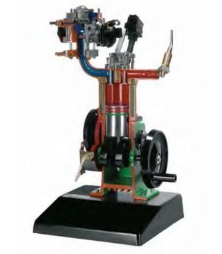 Model četverotaktnog benzinskog motora s elektronskim ubrizgavanjem Monojetronic
