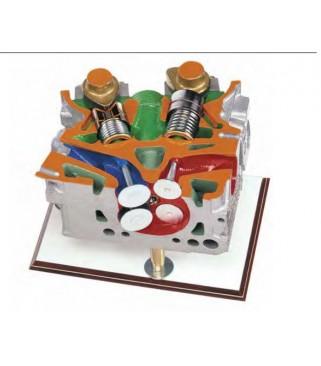 Glava motora sa četiri ventila DOHC