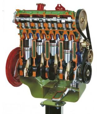 Motor sa bregastim vratilom iznad glave motora (OHC) i zupčasti remen