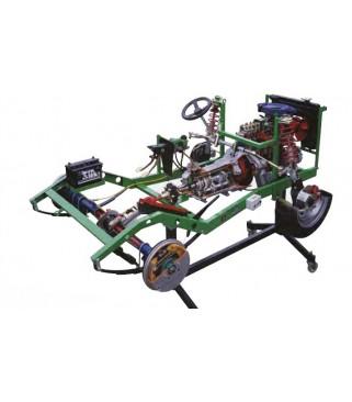 Automobilska šasija  - rasplinjač prednjeg motora sa stražnjim pogonom