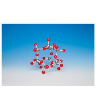 Silicij-dioksid (otv. model)