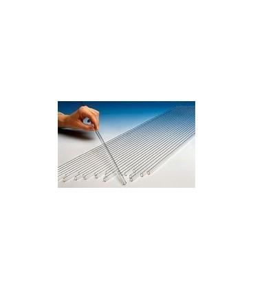 Cijev staklena ravna 6x120 mm
